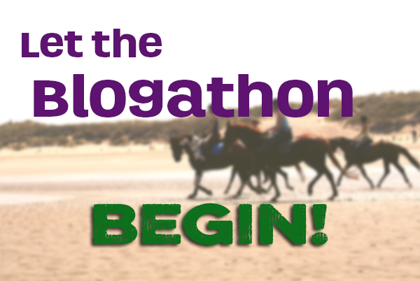 Let the blogathon begin!