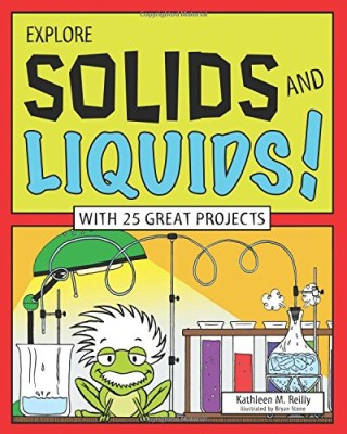 explore solids and liquids cover